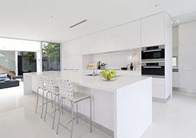 Keukenblok plaatsen