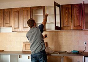 Keukenfrontjes kapot